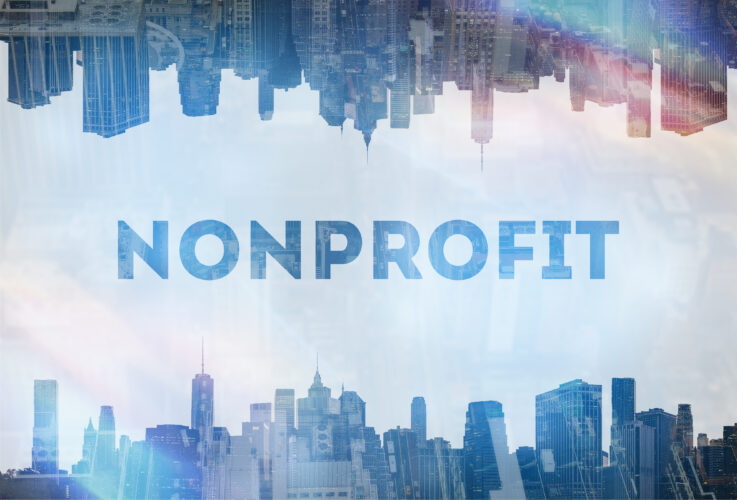 Non-profit organization  concept image